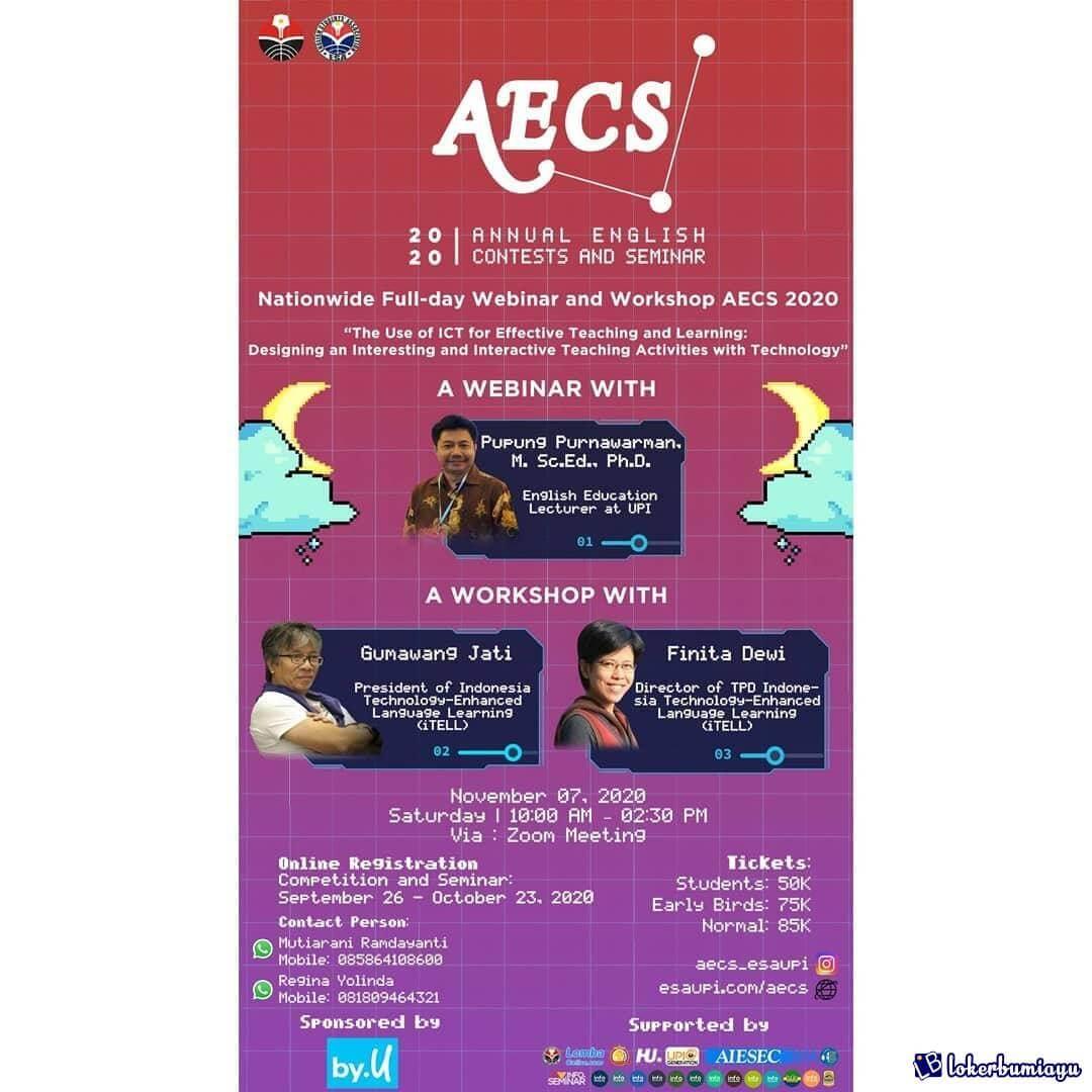 Annual English Contests and Seminar 2020