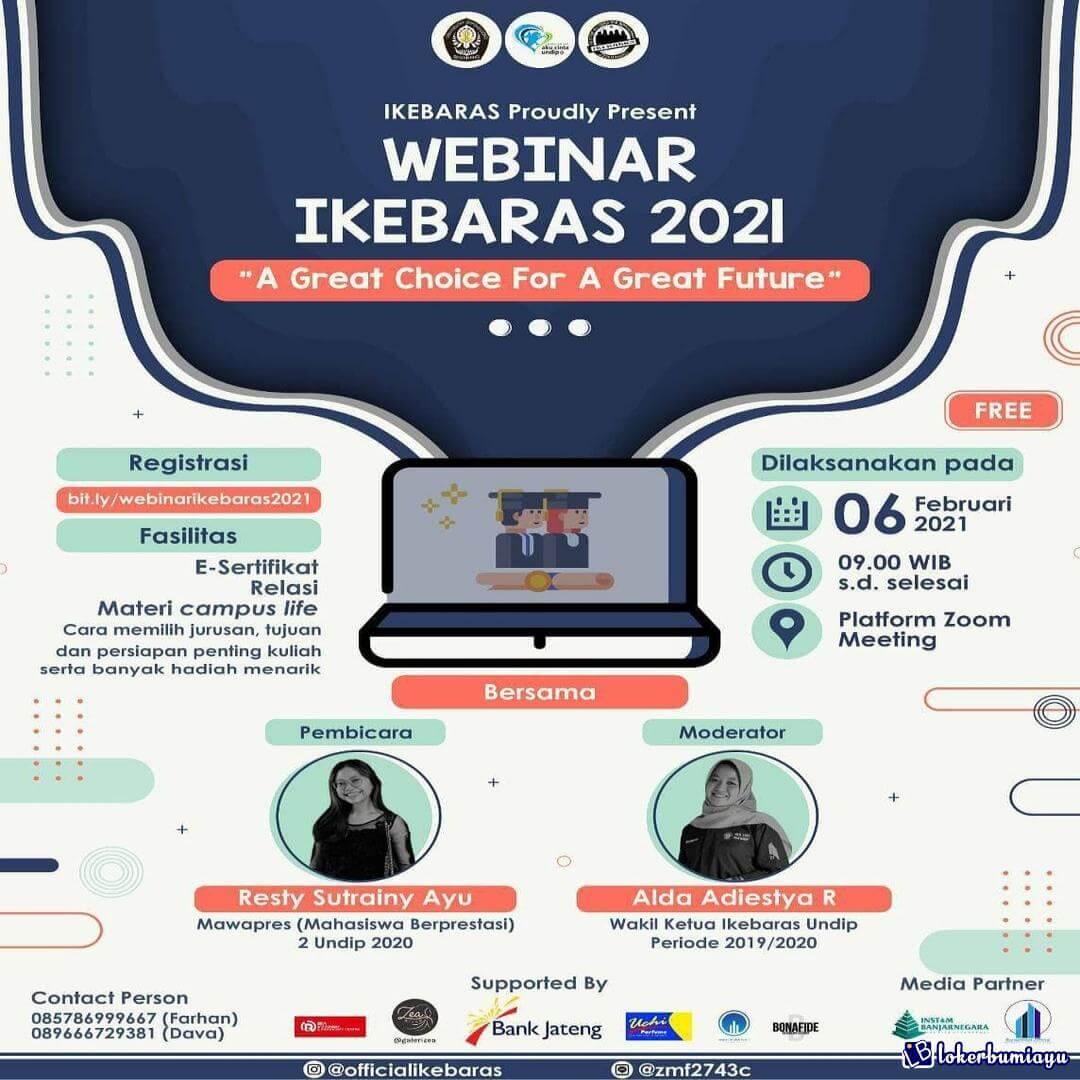 Webinar A Great Choice For a Great Future Februari 2021