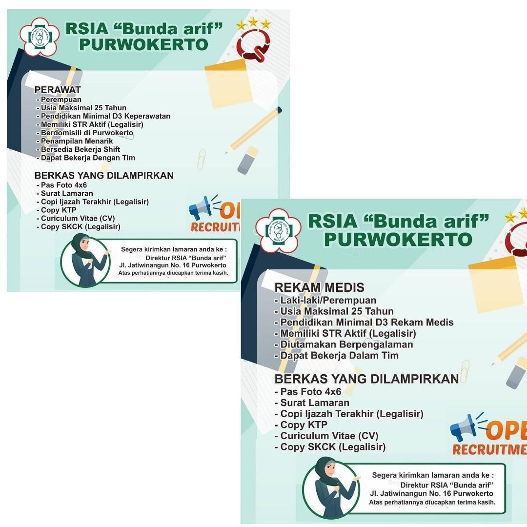 RSIA BUNDA ARIF PURWOKERTO