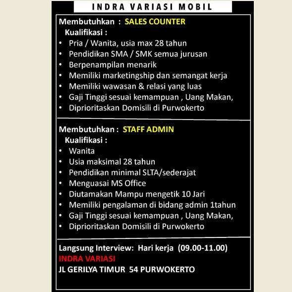 Indra Variasi Mobil Purwokerto