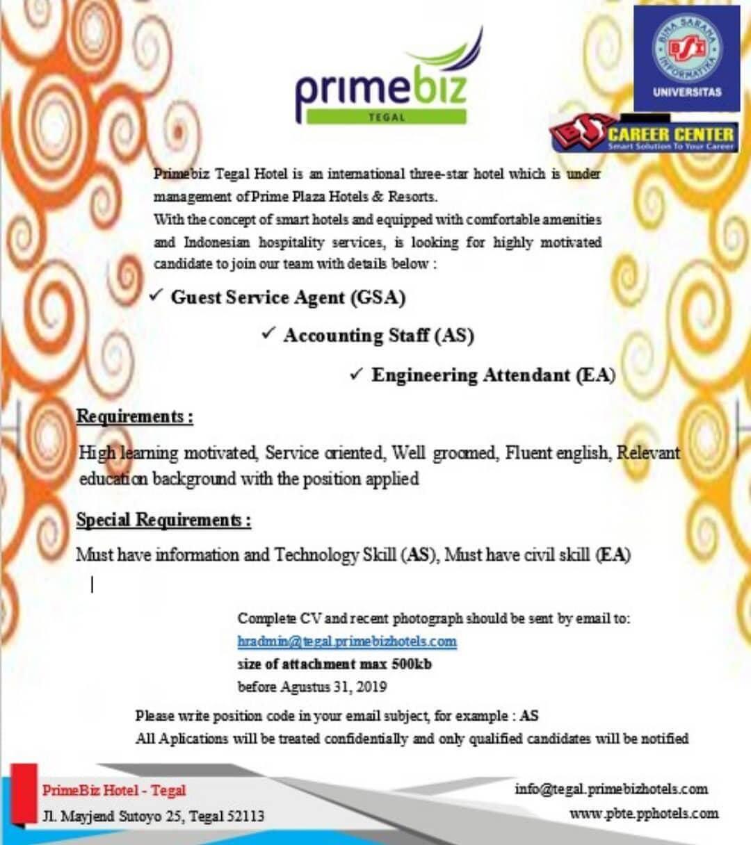 Primebiz Tegal Hotel