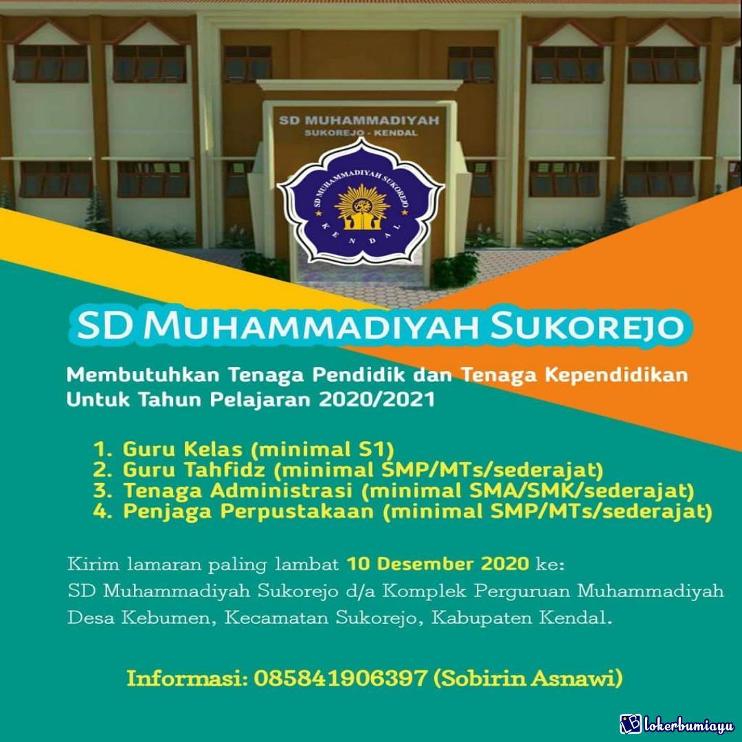 SD MUHAMMADIYAH SUKOREJO KENDAL