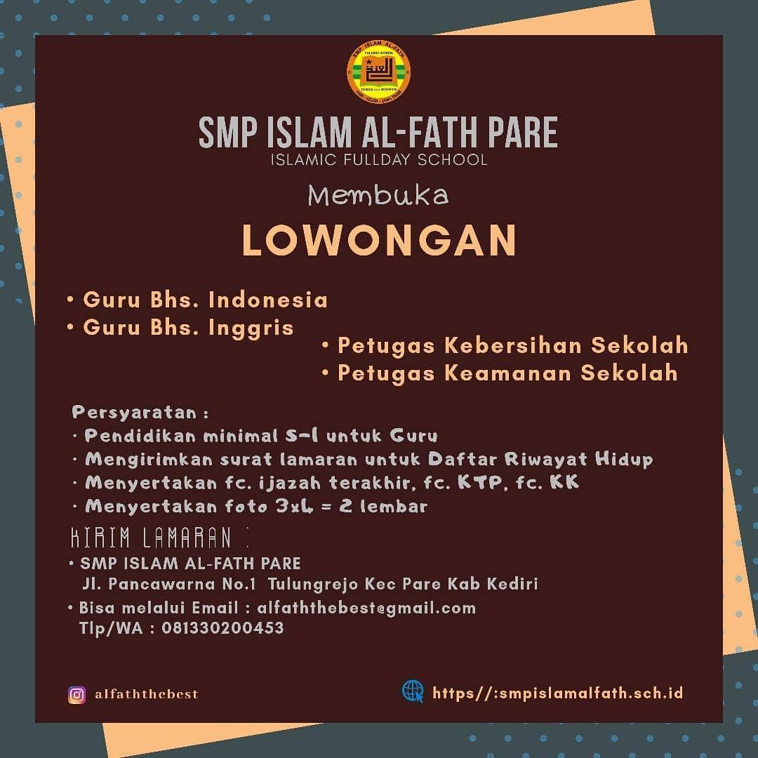 SMP ISLAM AL FATH PARE