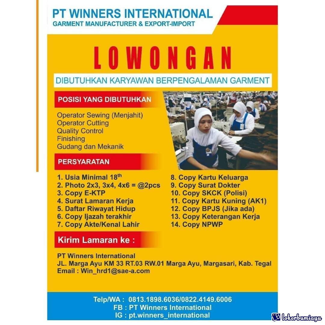 PT Winners International Tegal
