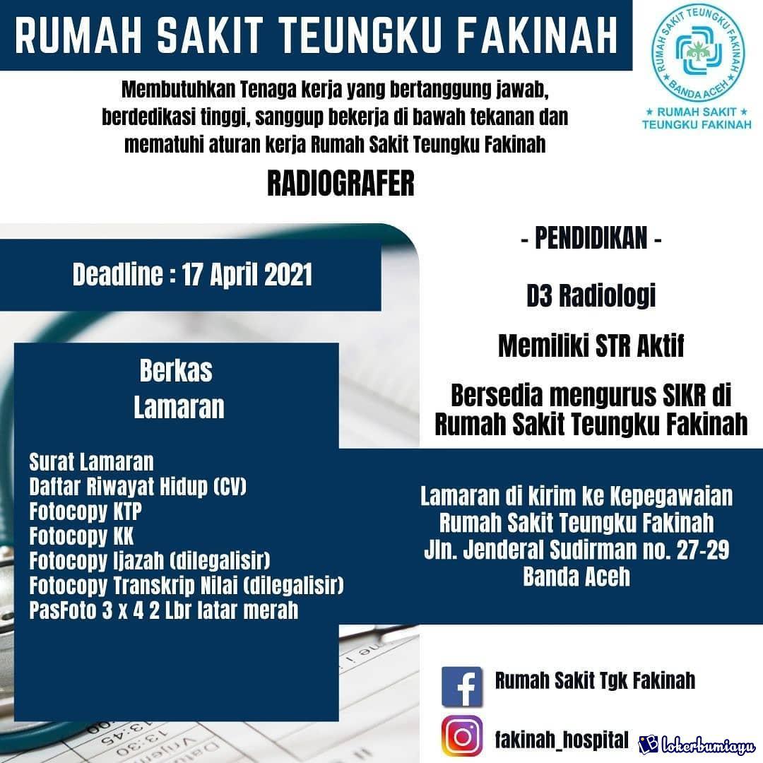 Lowongan Kerja Di Banda Aceh Nanggroe Aceh Darussalam Agustus 2021