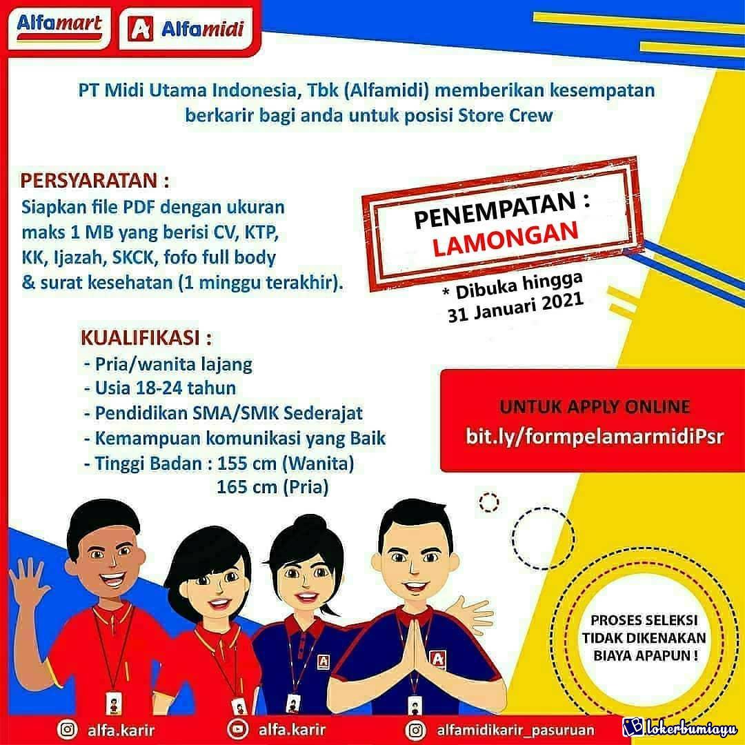 PT Midi Utama Indonesia Lamongan
