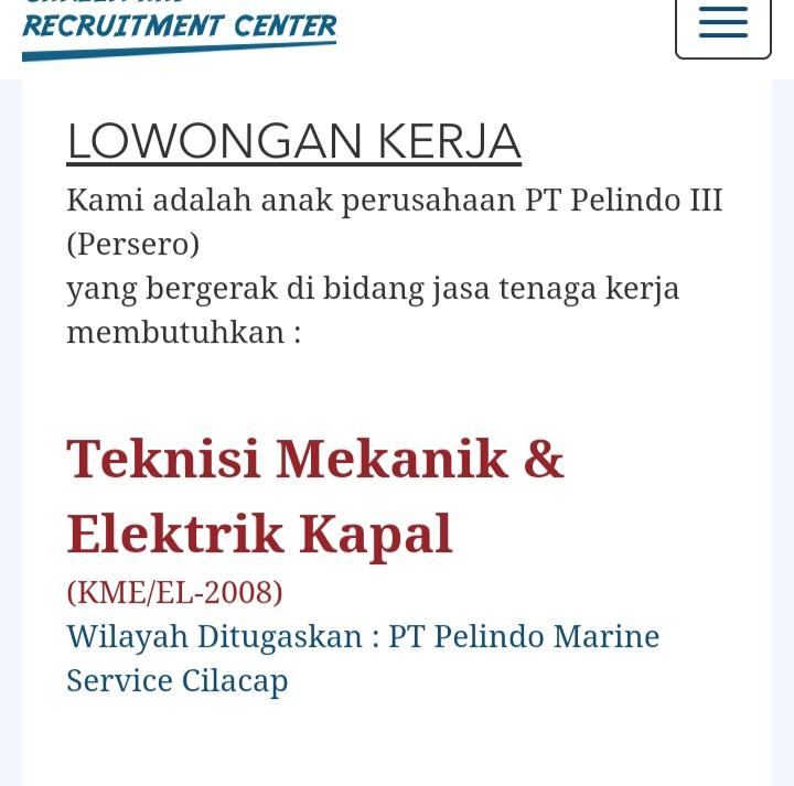PT Pelindo Marine Service