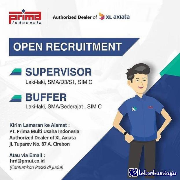 Lowongan Kerja Pt Prima Multi Usaha Indonesia April 2021