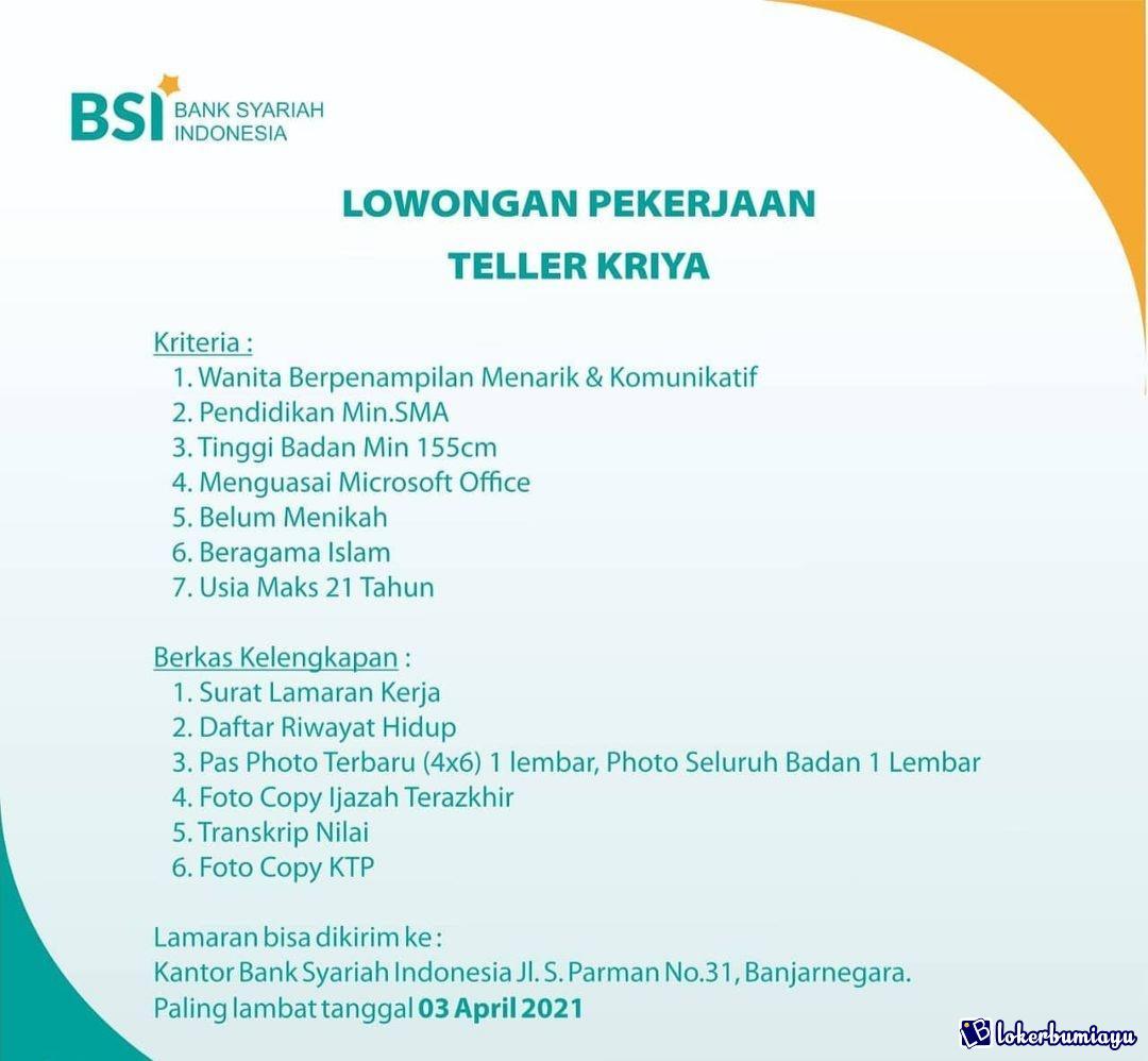 Bank Syariah Indonesia Banjarnegara
