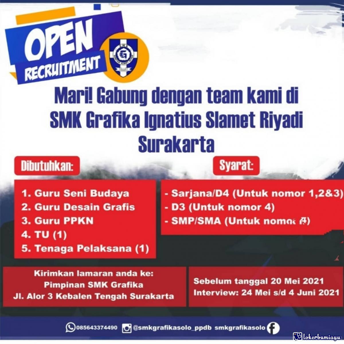 SMK Grafika Ignatius Slamet Riyadi Surakarta