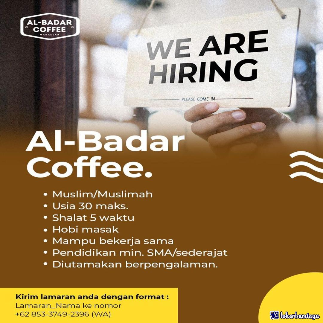 Lowongan Kerja Al Badar Coffee Makassar April 2021