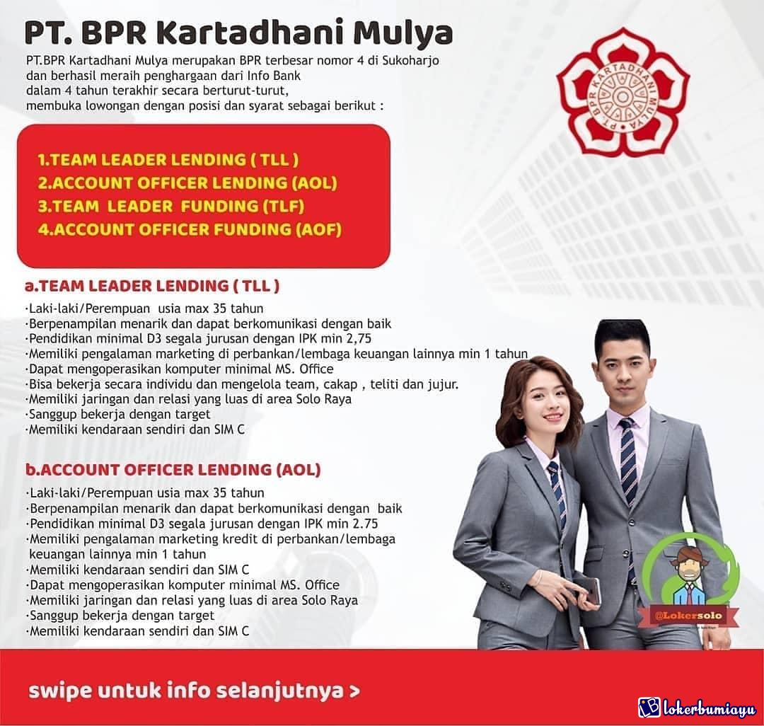 PT. BPR Kartadhani Mulya Sukoharjo