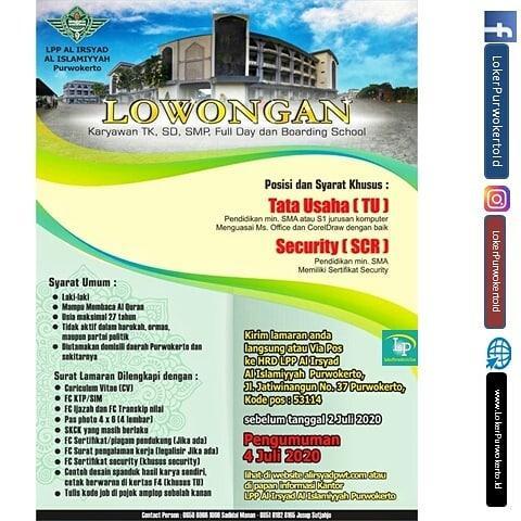 Lajnah Pendidikan dan Pengajaran Al Irsyad Al Islamiyyah Purwokerto