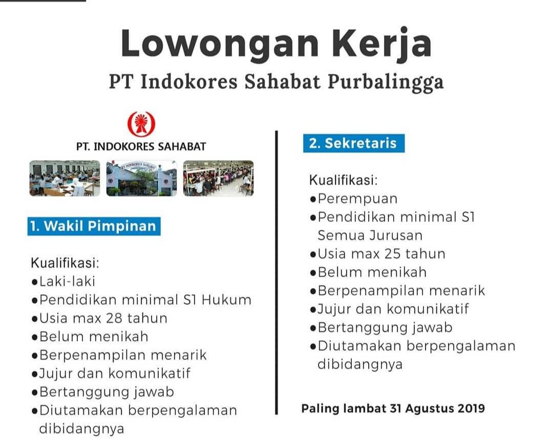 PT Indokores Sahabat Purbalingga