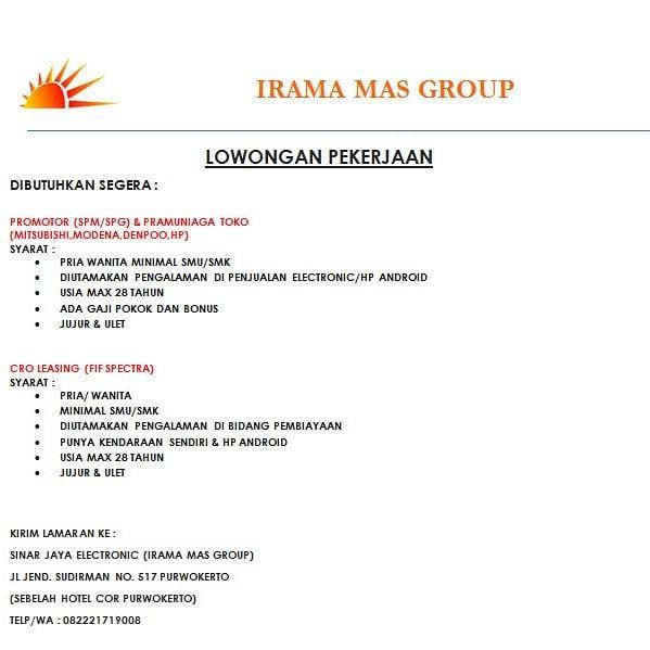 IRAMA MAS GROUP