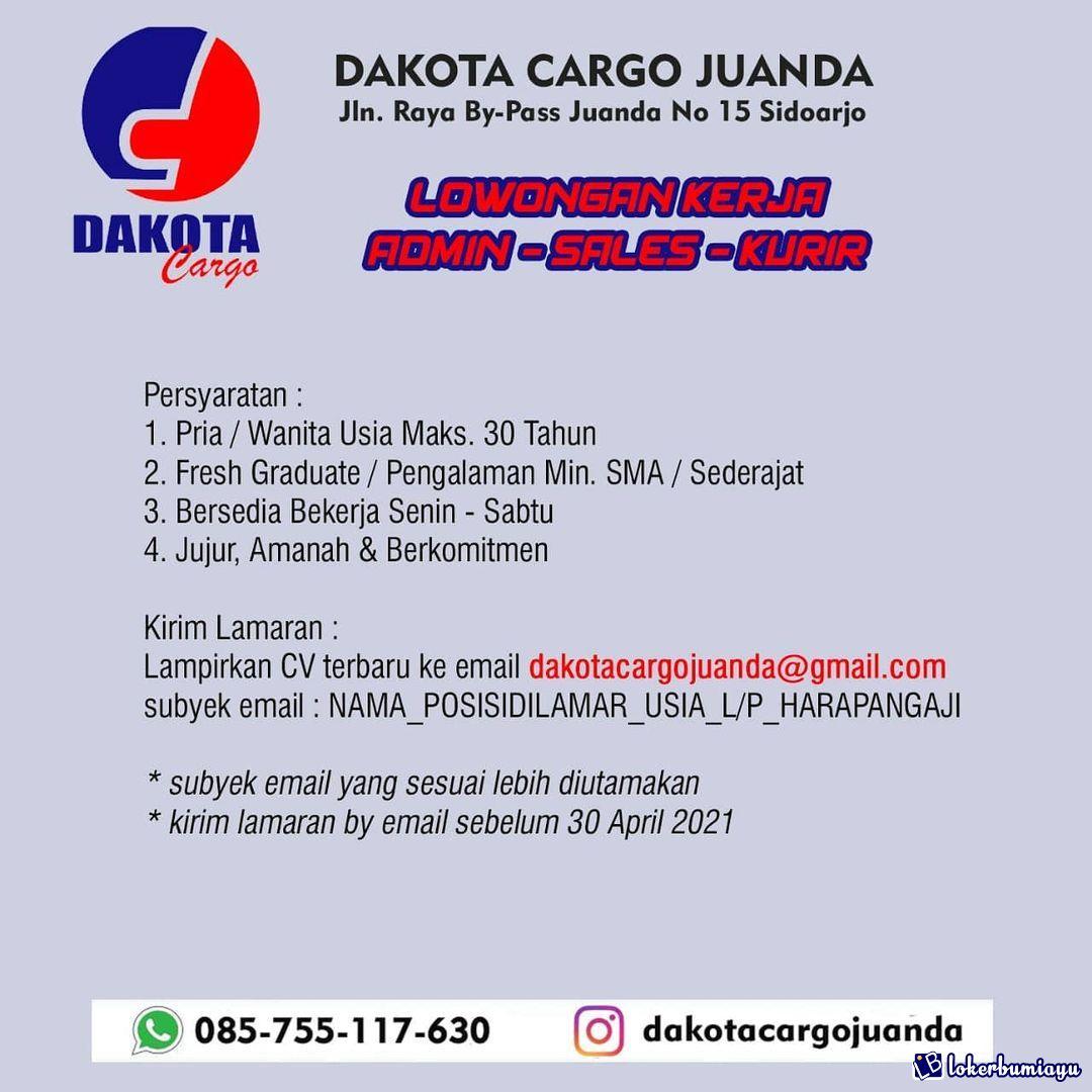 Dakota Cargo Juanda Sidoarjo