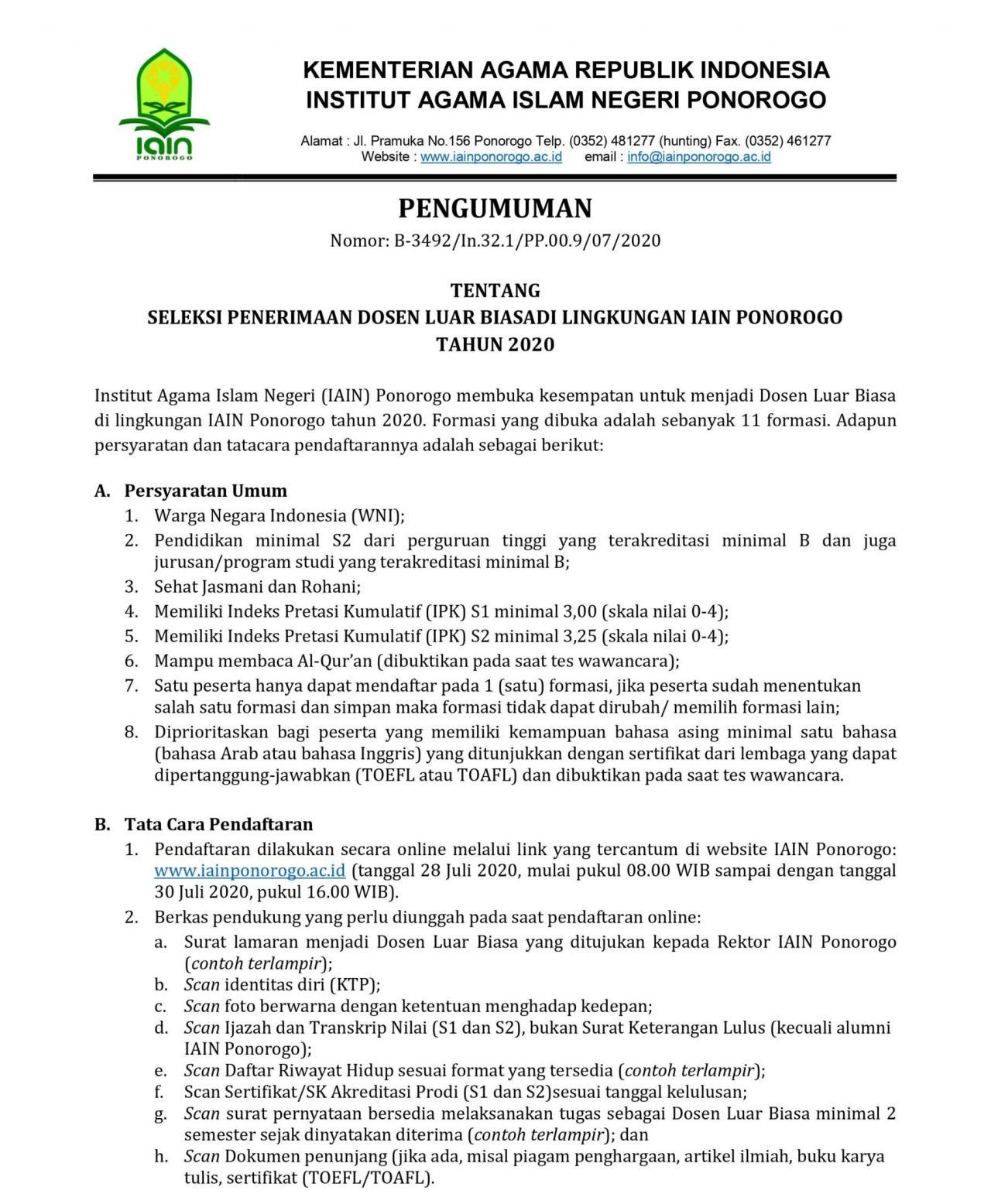 Institut Agama Islam Negeri Ponorogo