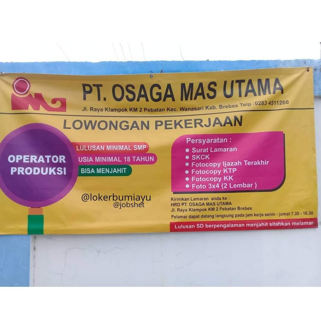 PT. OSAGA MAS UTAMA