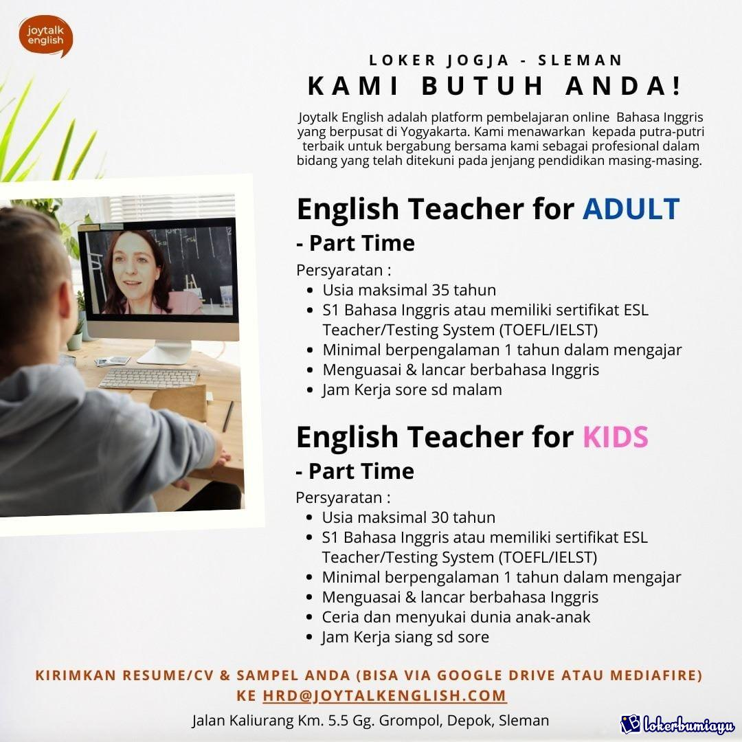 Lowongan Kerja Di Sleman Di Yogyakarta Februari 2021