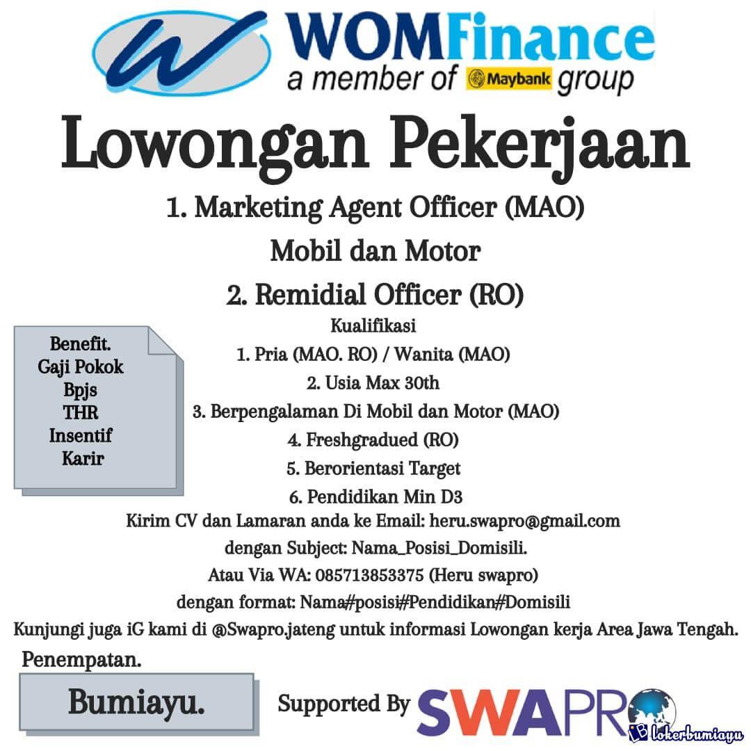 WOM Finance Bumiayu