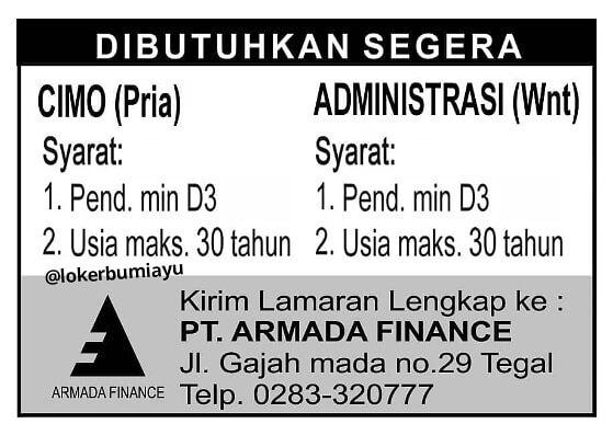 PT. ARMADA FINANCE TEGAL