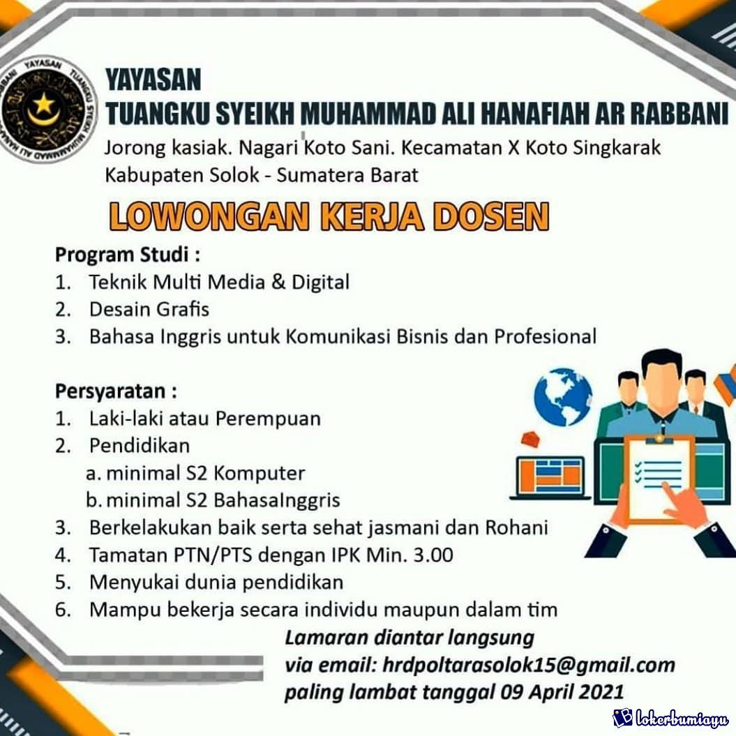 Yayasan Tuangku Syeikh Muhammad Ali Hnanafiah Ar Rabanni