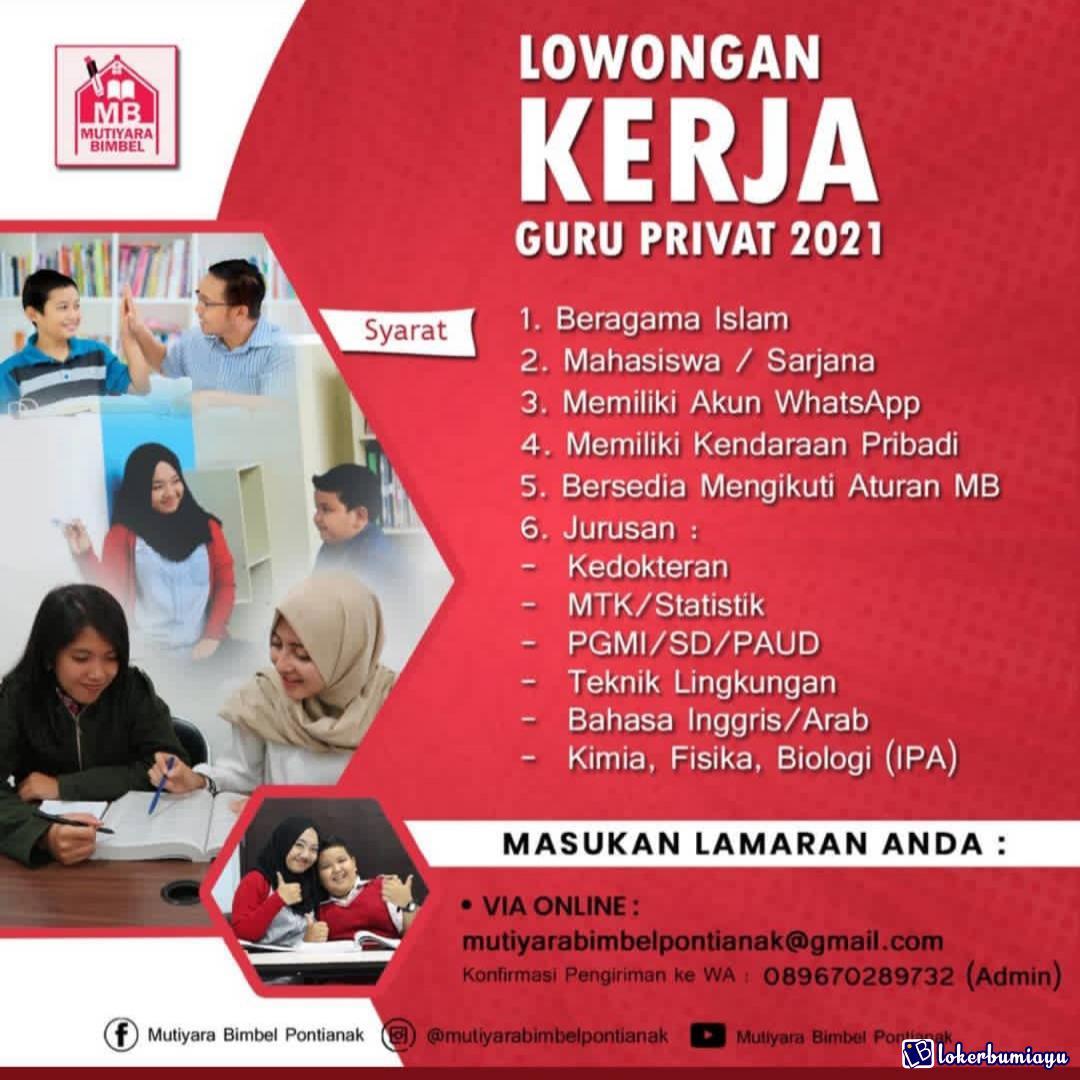 Lowongan Kerja S1 Di Pontianak Kalimantan Barat Juni 2021