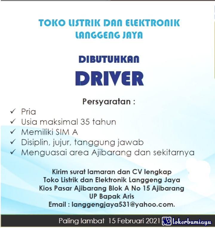 Toko Listrik dan Elektronik Langgeng Jaya