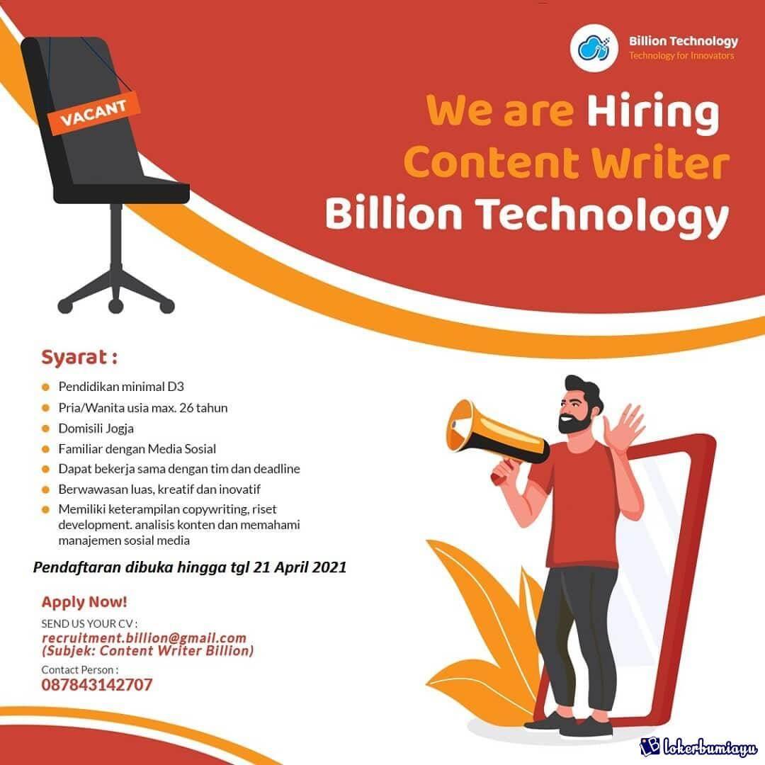 CV Billion Technology