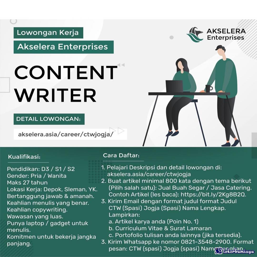 Akselera Enterprises Yogyakarta