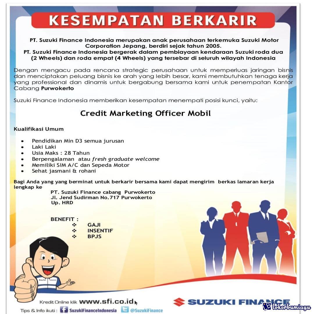 PT. Suzuki Finance Indonesia Cabang Purwokerto
