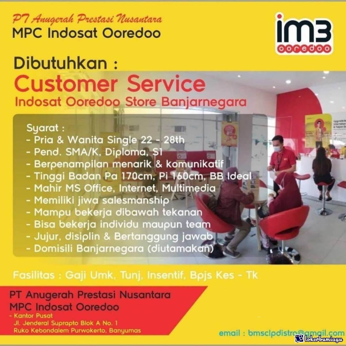 PT Anugerah Prestasi Nusantara Authorized MPC Indosat Ooredoo