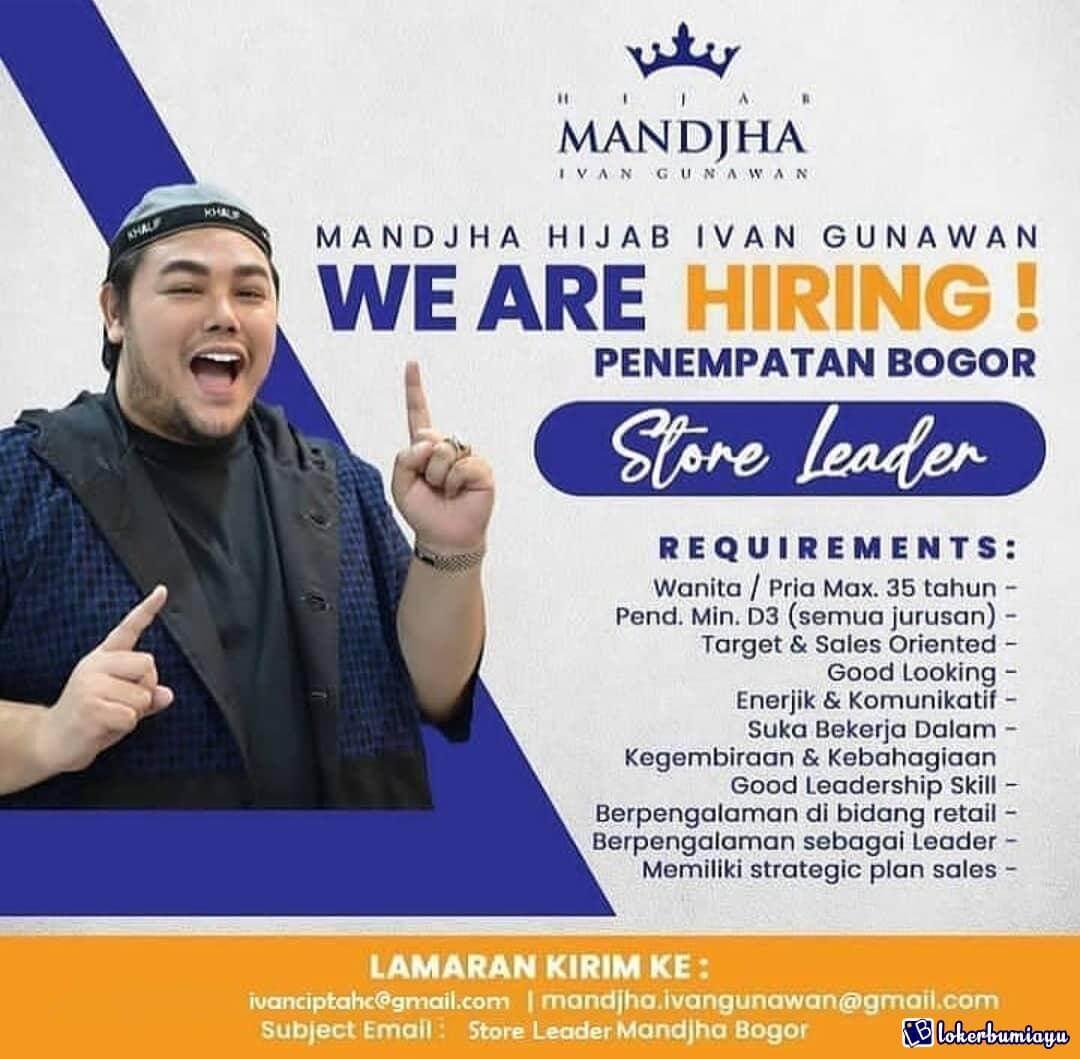Mandjha Hijab Ivan Gunawan Bogor
