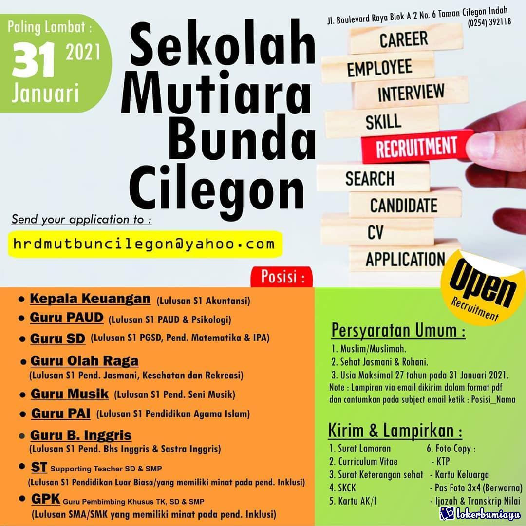 Sekolah Mutiara Bunda Cilegon Banten