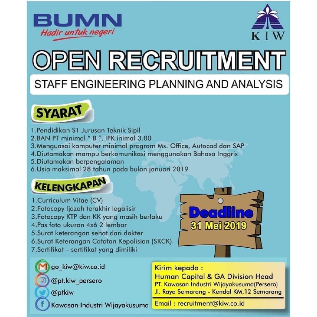Lowongan Kerja Engineering Semarang