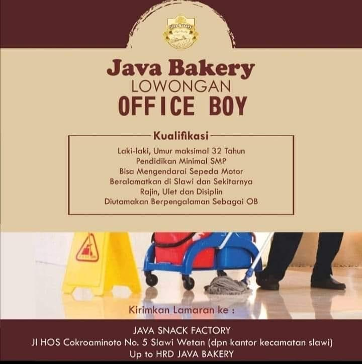JAVA BAKERY TEGAL