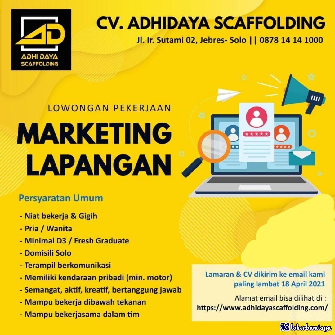 CV Adhidaya Scaffolding