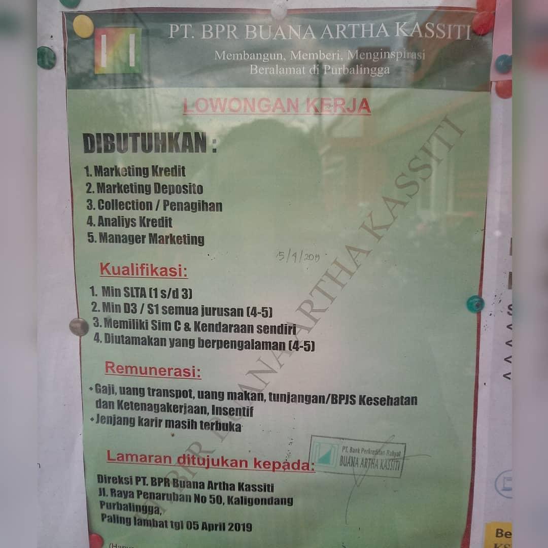 PT. BPR BUANA ARTHA KASSITI