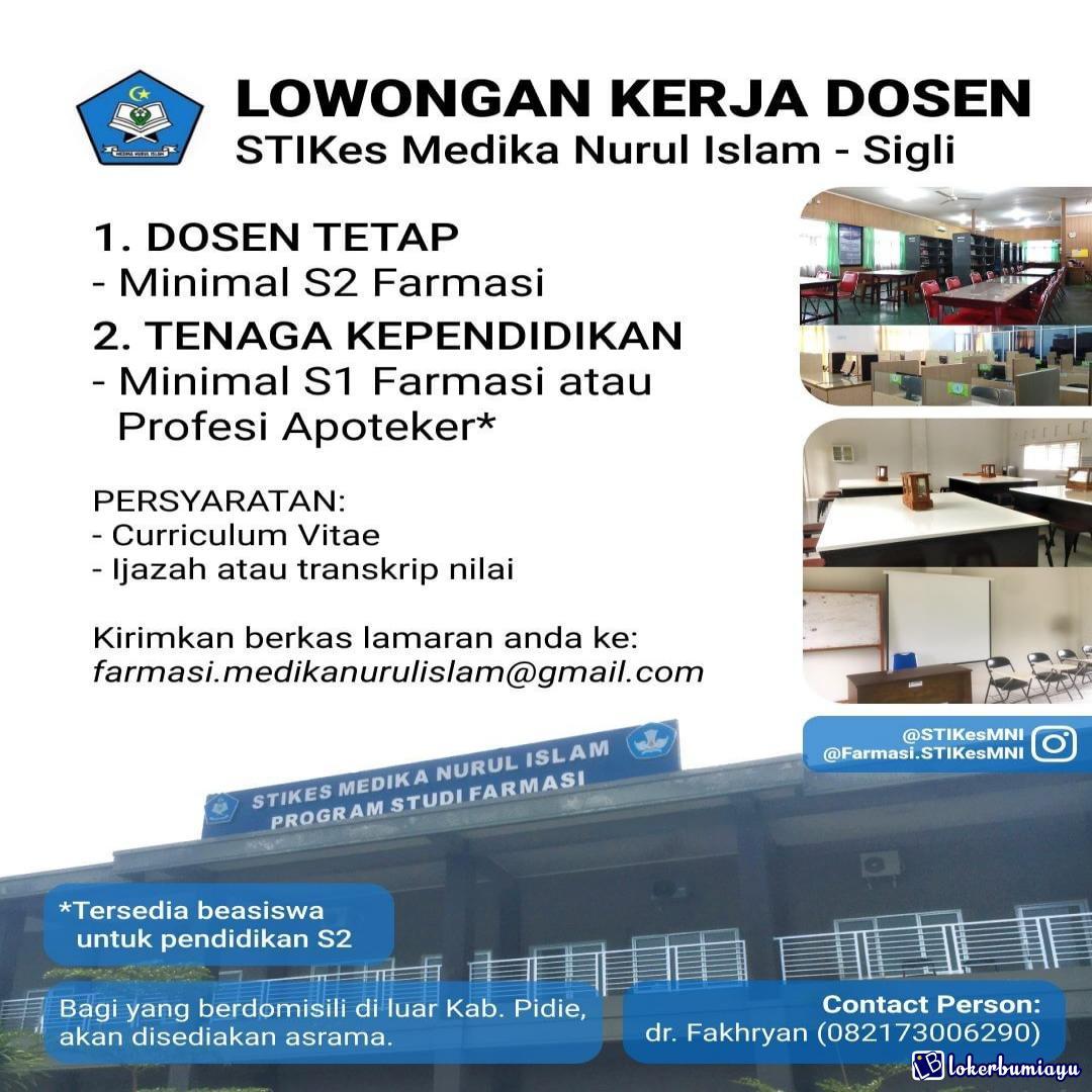 Lowongan Kerja Di Pidie Nanggroe Aceh Darussalam Februari 2021
