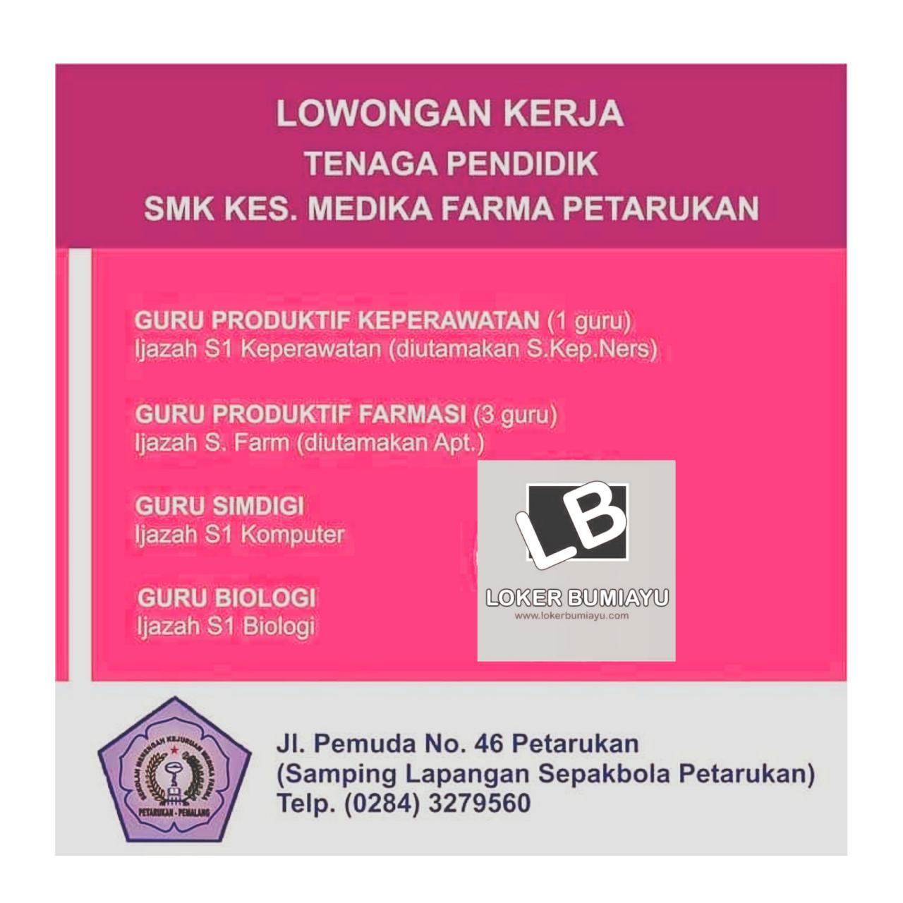 SMK Kesehatan Medika Farma Petarukan