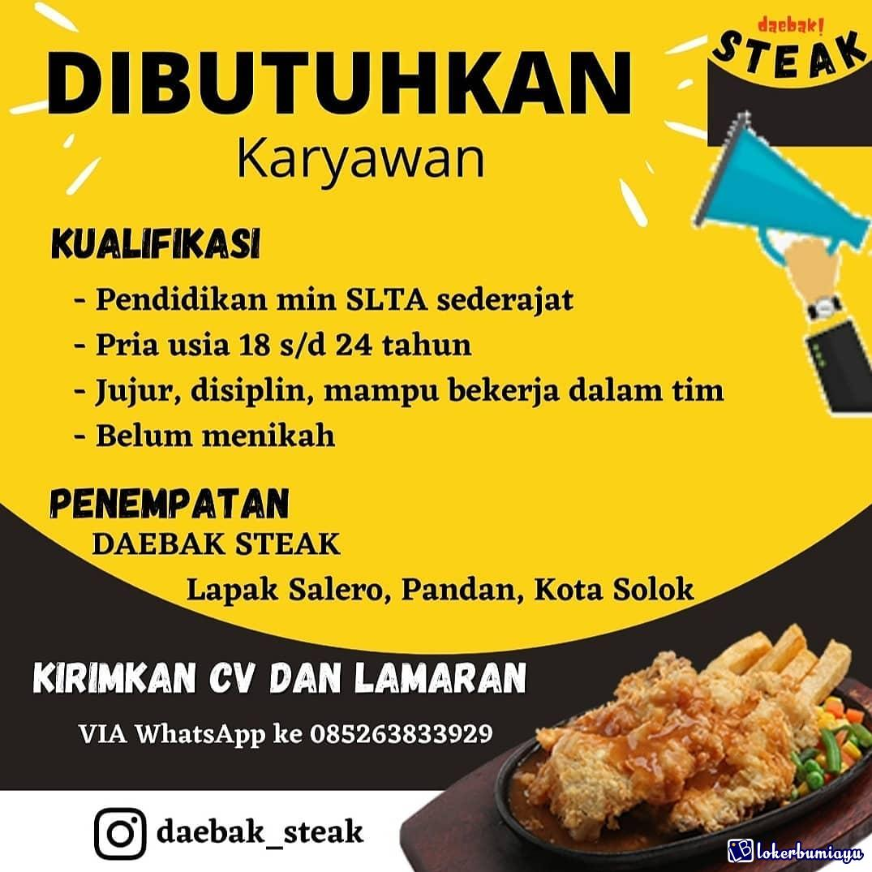 Daebak Steak Solok