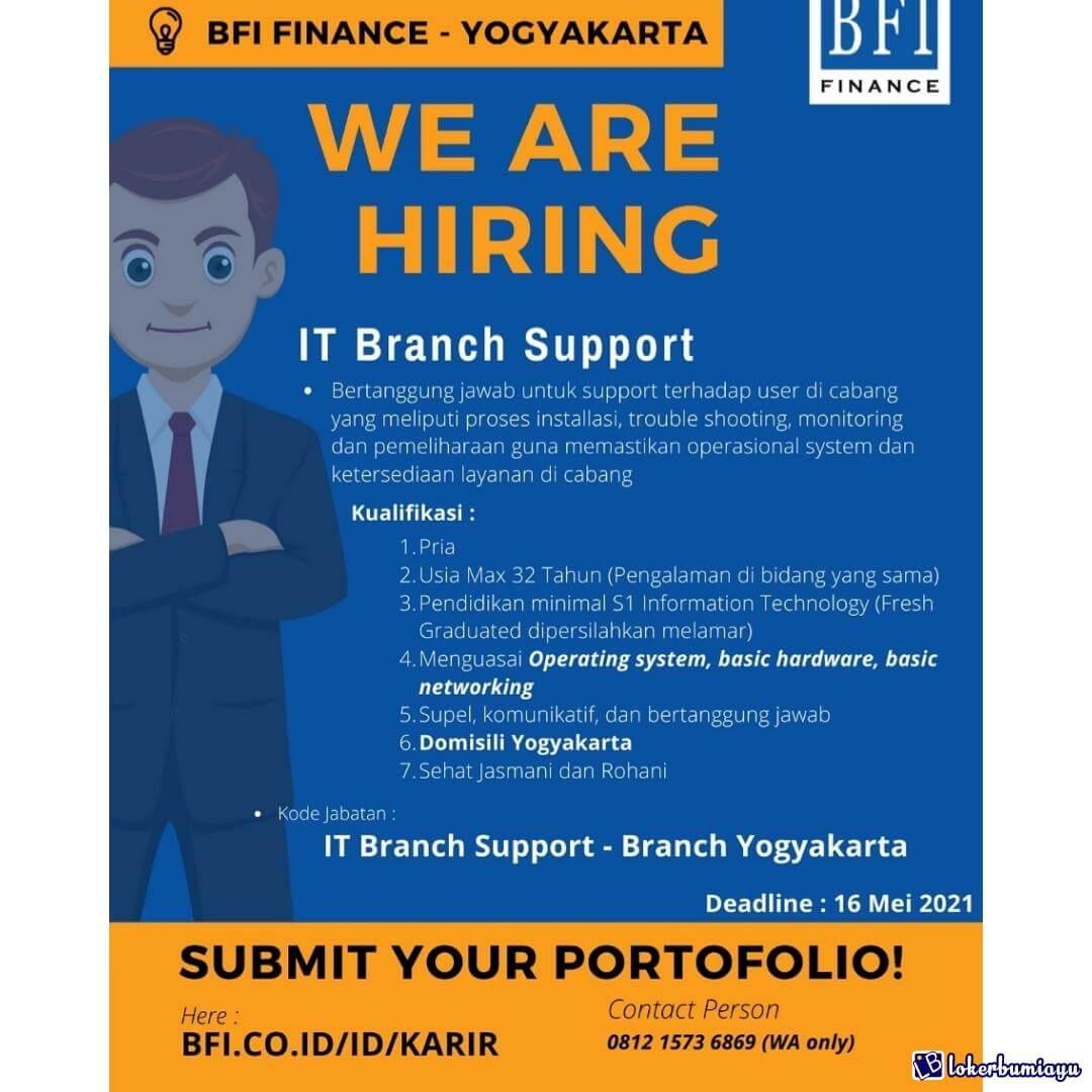 PT BFI Finance Indonesia Branch Yogyakarta