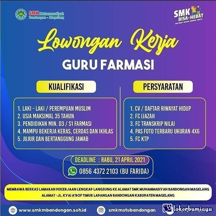 SMK Muhammadiyah Bandongan Magelang