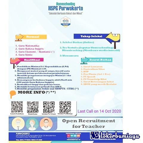 Homeschooling HSPG Purwokerto
