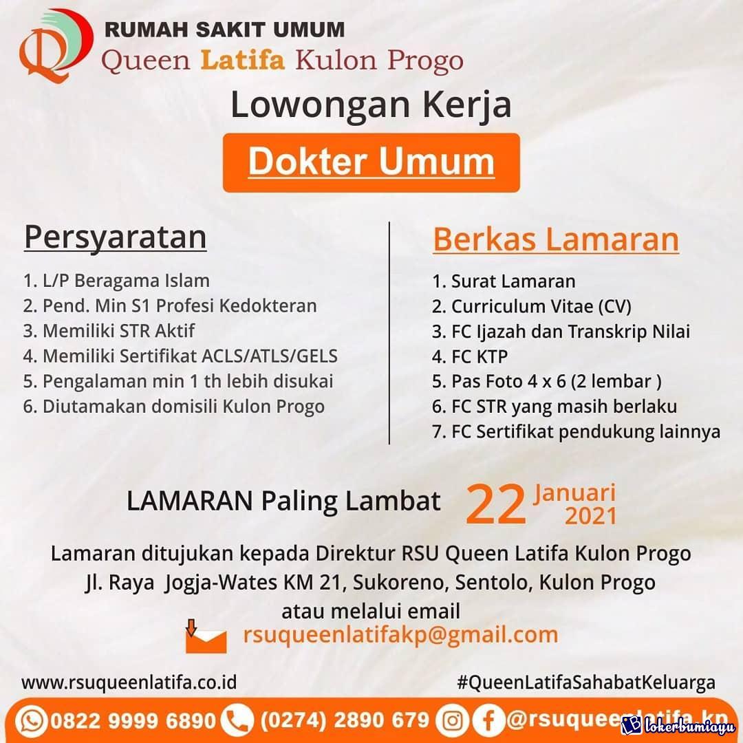 Lowongan Kerja Di Kulon Progo Di Yogyakarta Juli 2021
