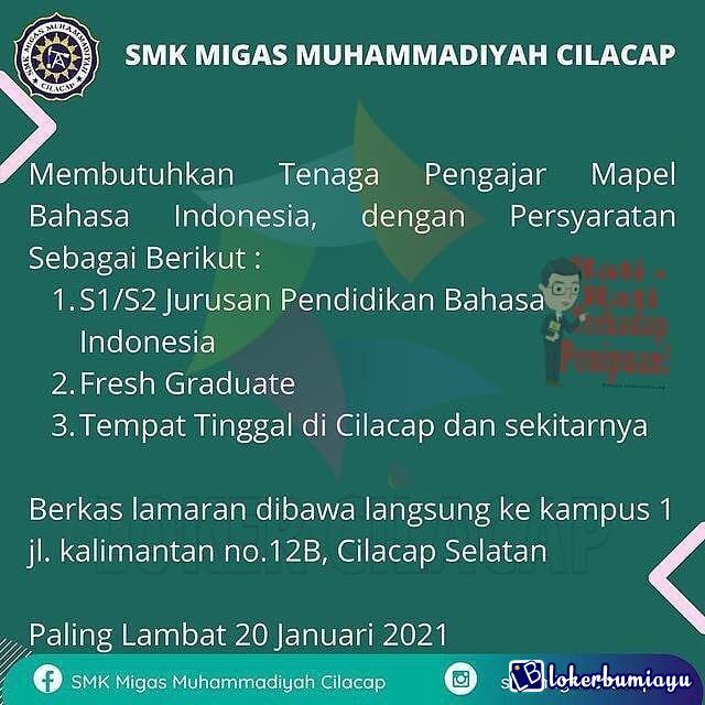 SMK MIGAS MUHAMMADIYAH CILACAP