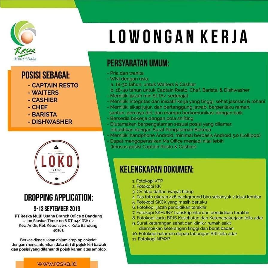 PT Reska Multi Usaha Branch Office 2 Bandung