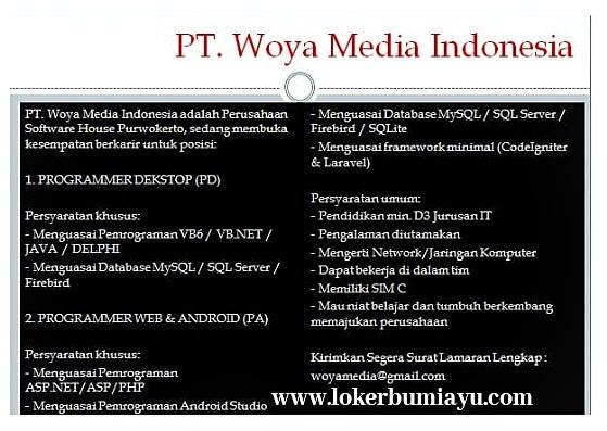 PT. Woya Media Indonesia