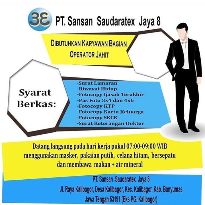 PT. Sansan Saudaratex Jaya 8