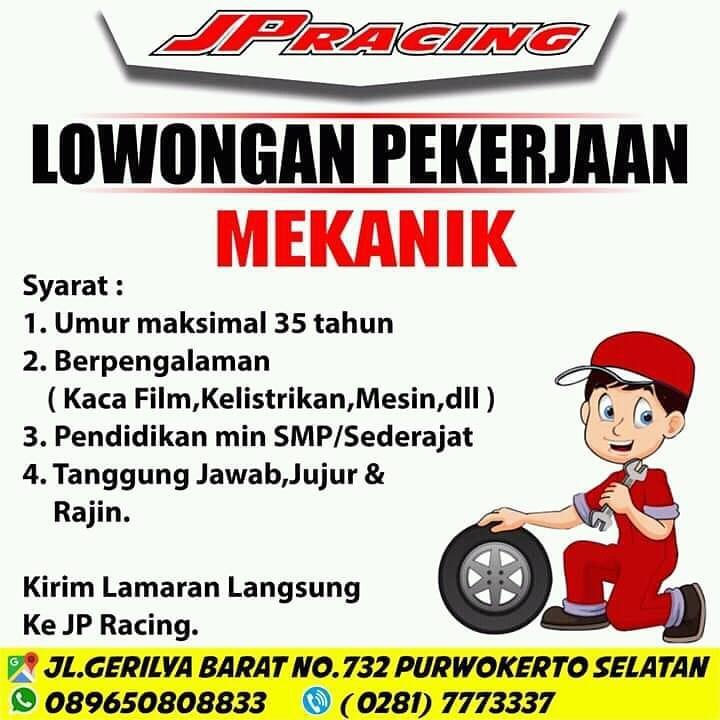 JP RACING PURWOKERTO